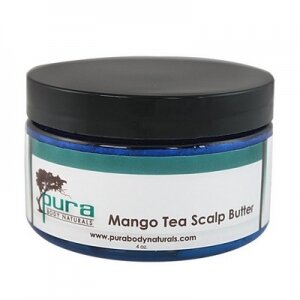 Pura Body Naturals - Mango Tea Scalp Butter - 114 gr