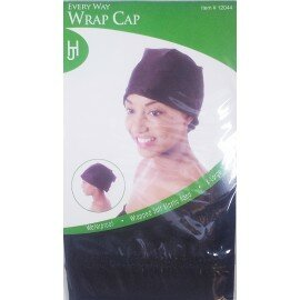 Bonnet stretch satin - Wrap cap