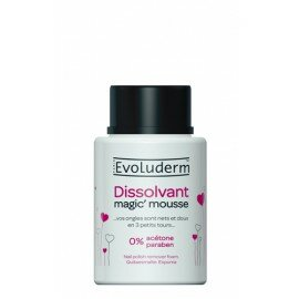 Dissolvant Magic Mousse enrichie en glycérine - 75 ml
