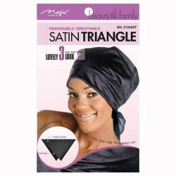 Foulard triangle en satin - Satin Triangle
